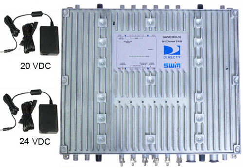 direct tv wiring diagram swm for window ac unit 32 directv multiswitch with dual 24 and 20v power supplies