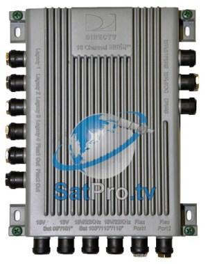SWM16 Multiswitch With Power Inserter  2 8Way SWM Spliters