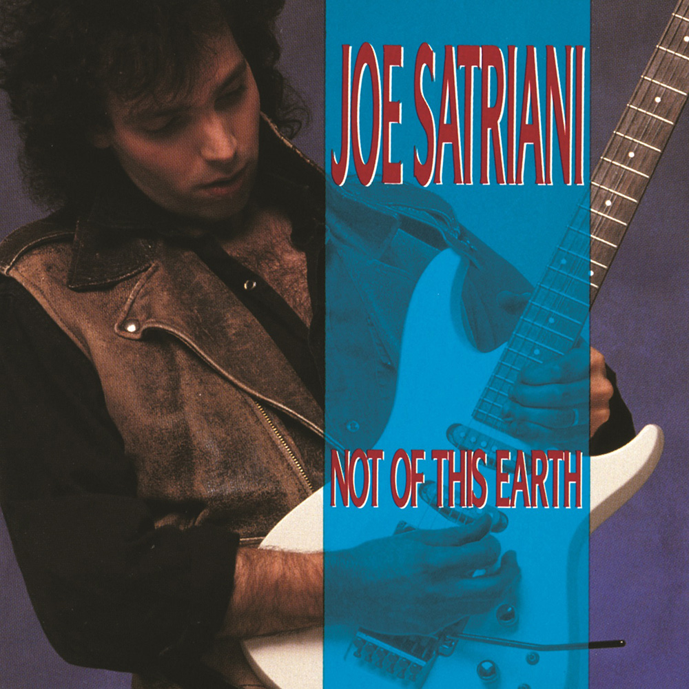 """Joe Satriani The first album """"Not From This Earth"""" (1986)"""