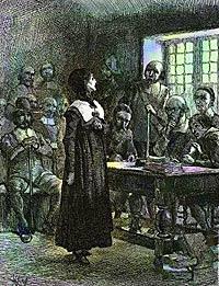 Anne Hiutchinson on trial