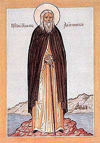 icon of Herman of Alaska
