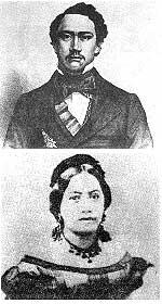 Kamehameha IV & Queen Emma