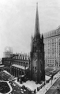Trinity Church, New York, in 1912