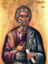 Icon of St. Andrew