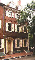 Bp. White's home, now part of Independence NHP