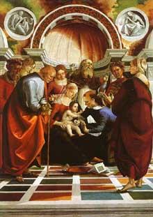 The Circumcision, by Signorelli