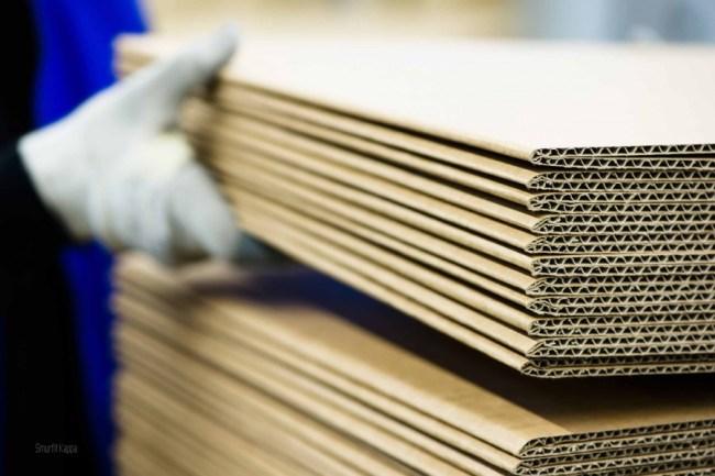 Contoh Corrugated Paper