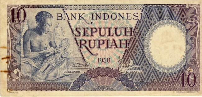 Uang kuno 10rupiah