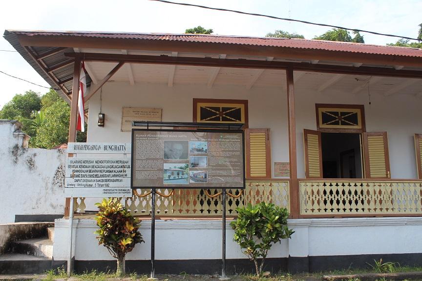 Rumah bekas pengasingan Moh. Hatta