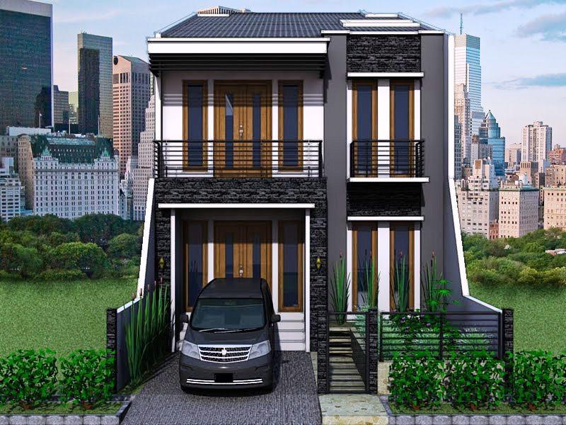 Model Rumah Minimalis - Minimalis dengan Rumah 2 Lantai