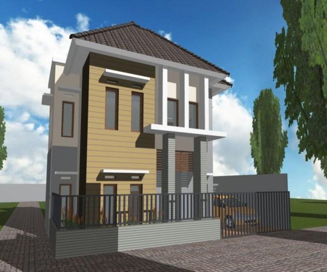 Model Rumah Minimalis dengan Halaman yang Luas