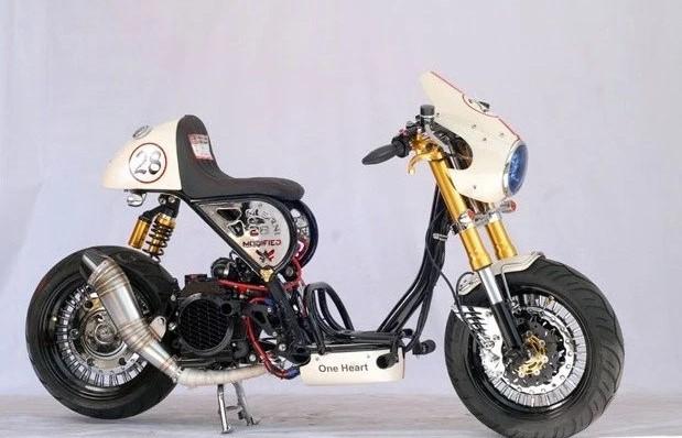 Modifikasi Motor Modifikasi Motor Ini Akan Membuatmu Pengin