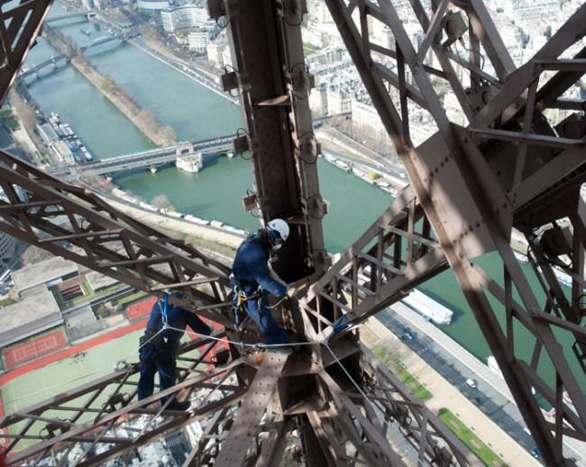 Pembangunan Menara Eiffel