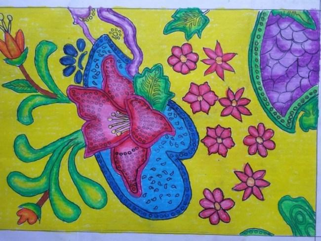 Lukisan Gambar Flora Dan Fauna Cikimm Com