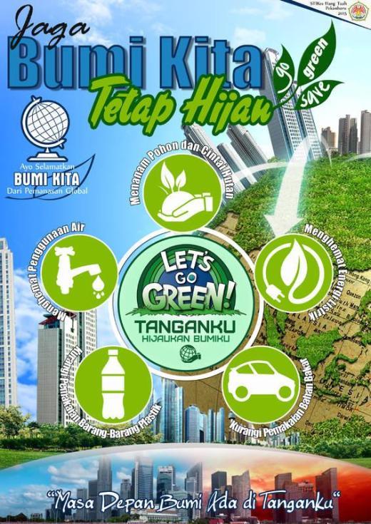 Contoh Poster Lingkungan Hidup Beserta Pengertian Dan Contohnya
