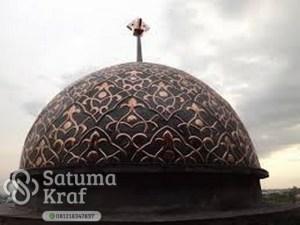 kubah masjid tembaga bagus