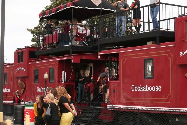 Brilliant Garnet Cockabooses South Carolina'
