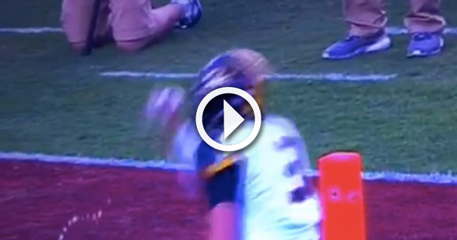 Video Missouri QB Drew Lock drinks water bottle thrown at