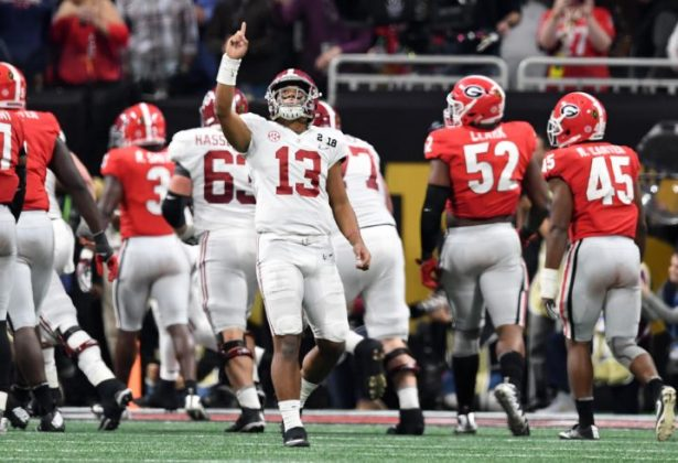 Image result for tua tagovailoa alabama