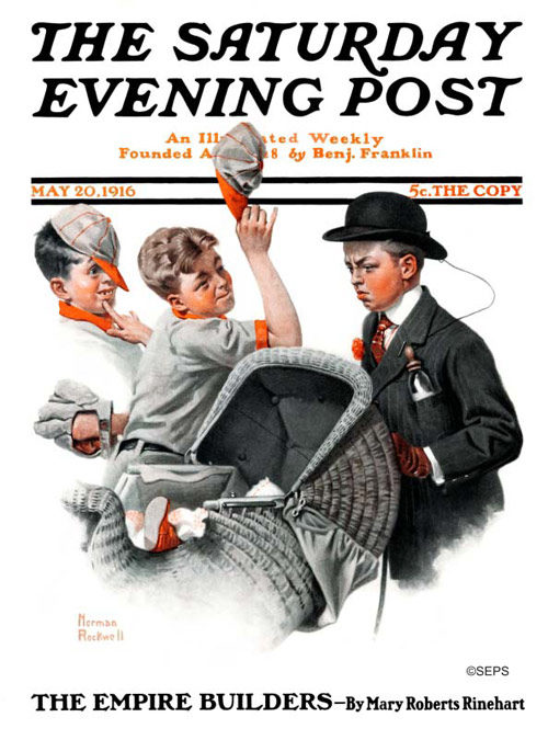 Saturday Evening Post front page