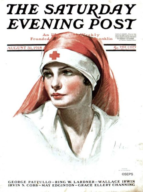 Cover Gallery Celebrating World Red Cross Day  The Saturday Evening Post