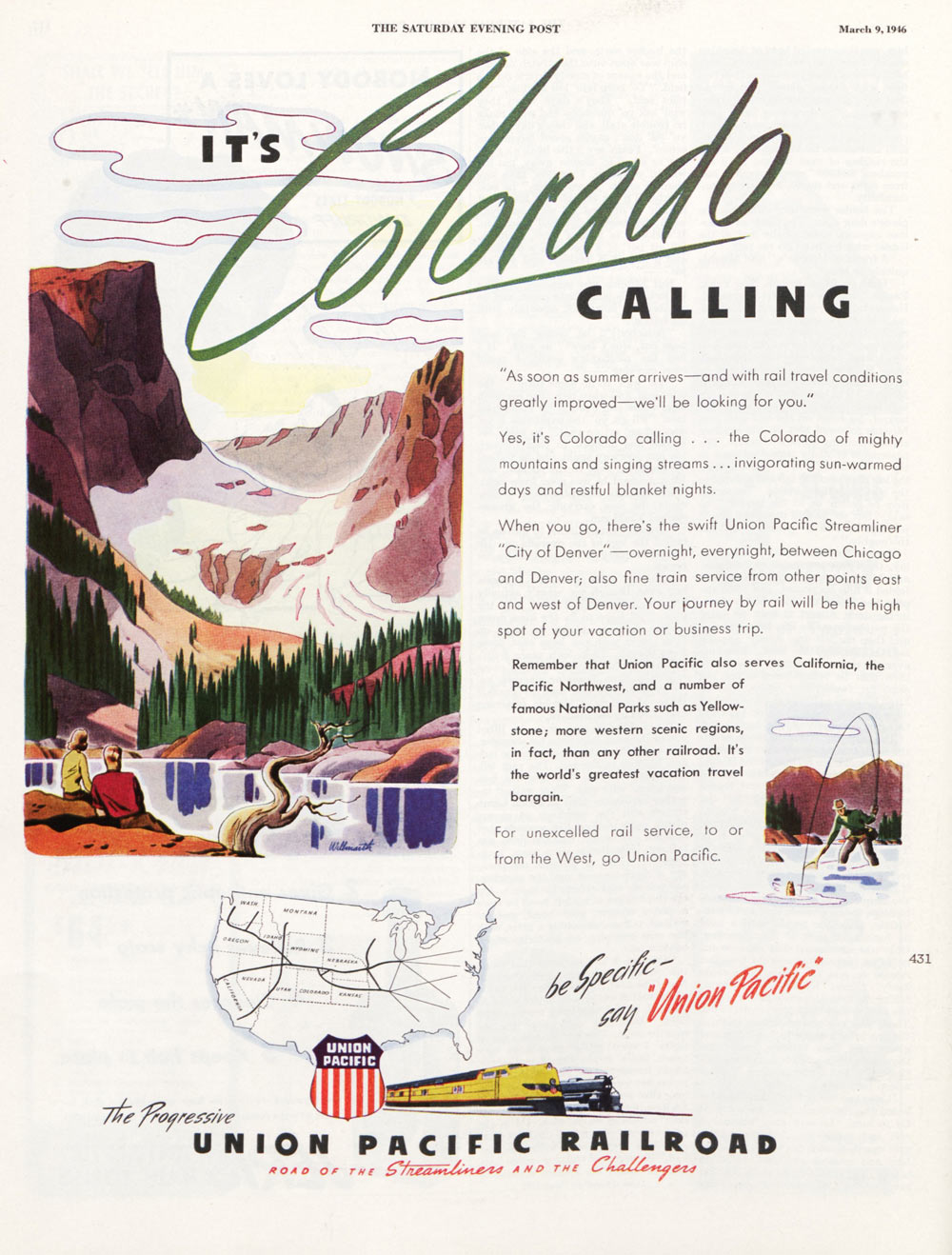 Vintage Ads Mid Century Travel By Boat Bus Plane And Train The Saturday Evening Post