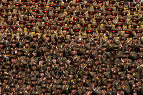Officers of the North Korean Army