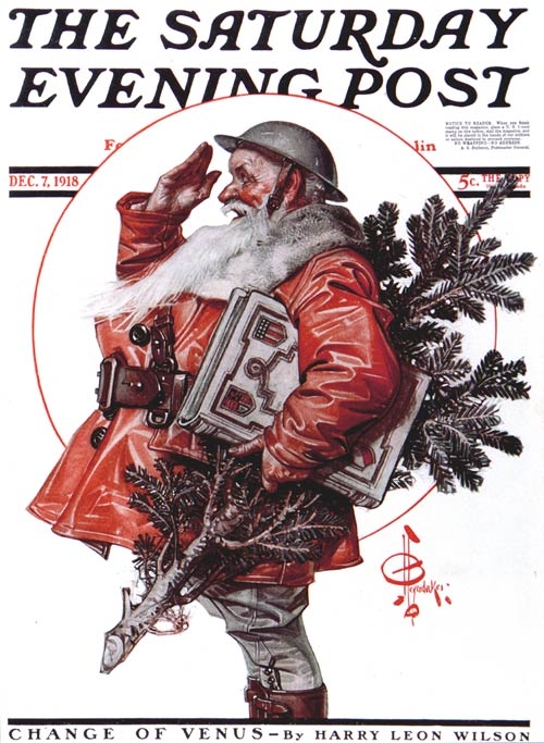 Classic Covers A Soldiers Christmas The Saturday