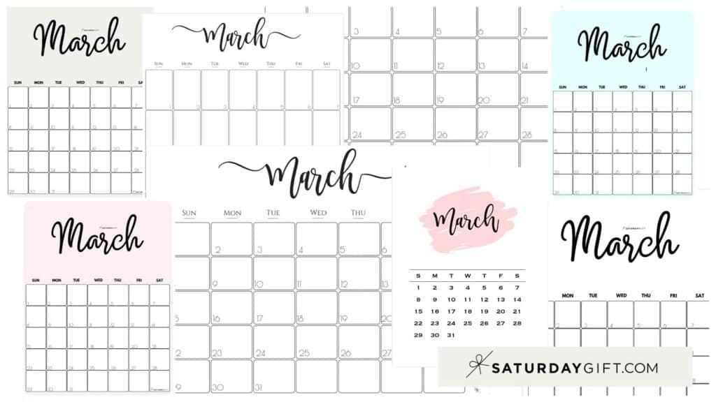 Monthly Calendar 2021 Printable Free Word : Printable 2021 ...