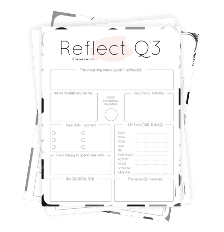 How to Review Your Life with the (Q3) Quarter Three