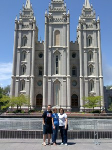 Siblings at SLC Temple
