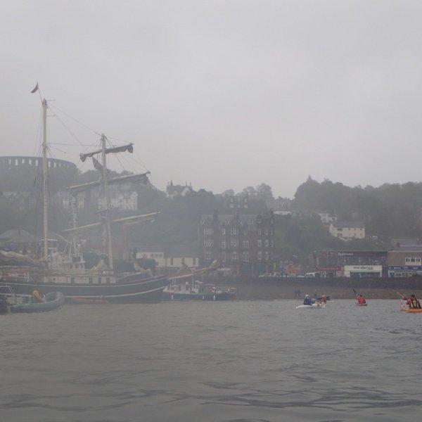 A wee spot of rain