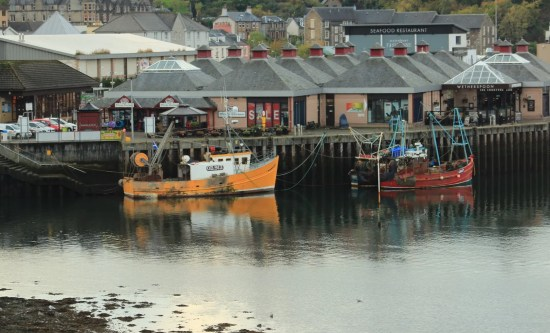 Fishing Boats Oban Harbour