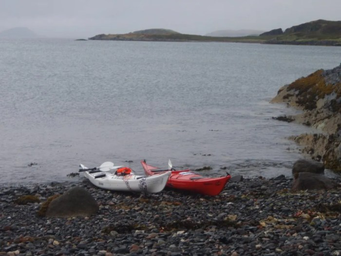 2011-09-23/24 WWPF Cop out - My First Sea Kayak Experience