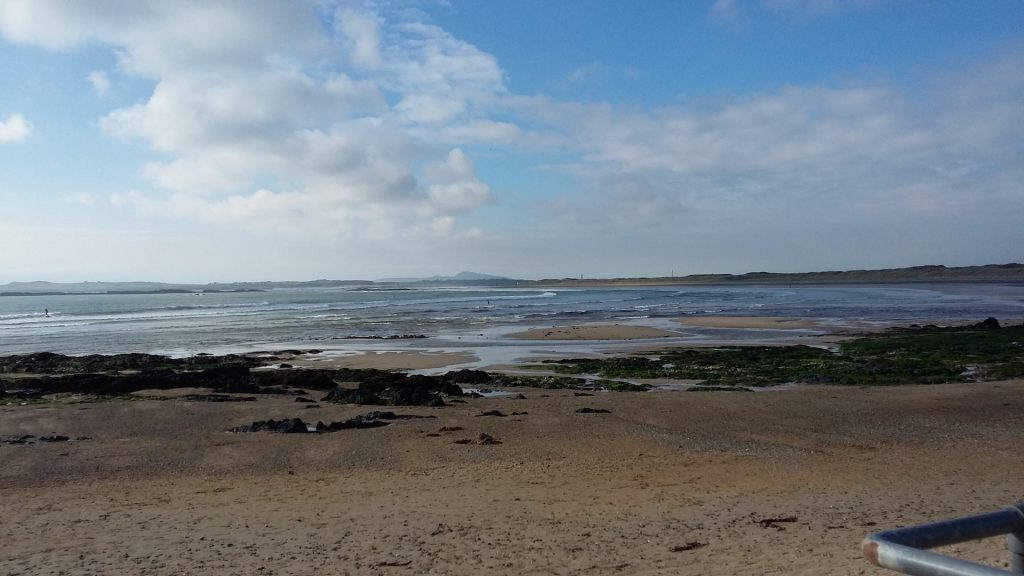 Rhosneigr - after my surf session