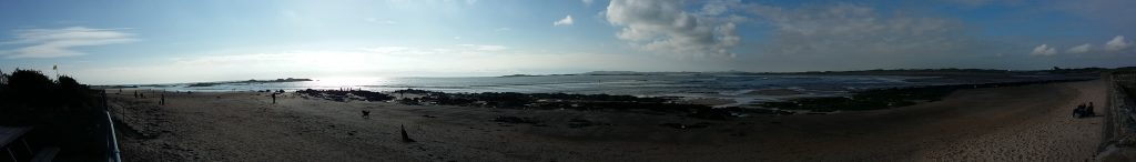 Rhosneigr Panorama- after my surf session