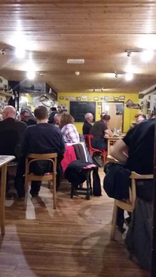 The Paddlers Return - great food beer and company