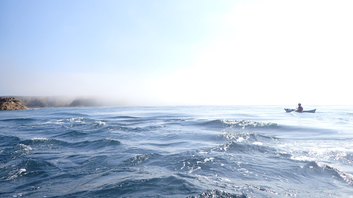 Misty Headland and a small PenHryn Mawr