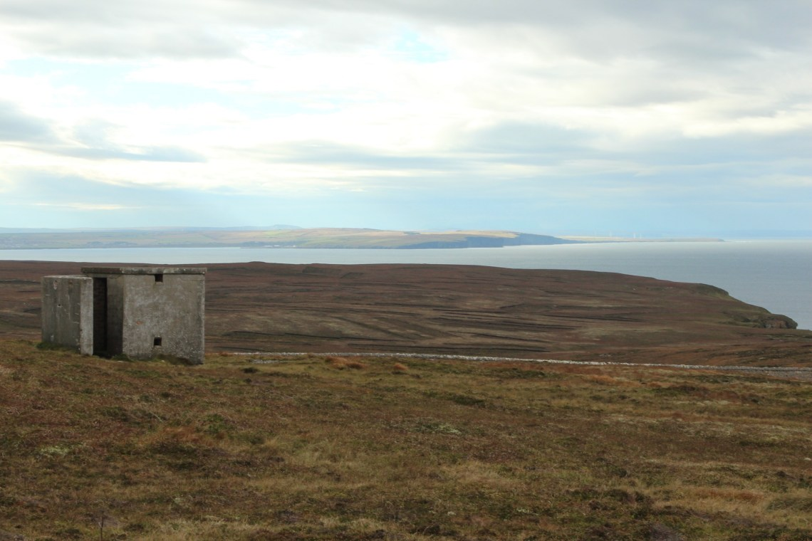 Dunnet Head looking East passed