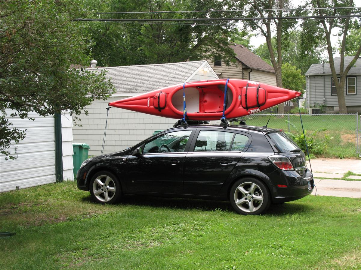 Roof Rack with Sunroof