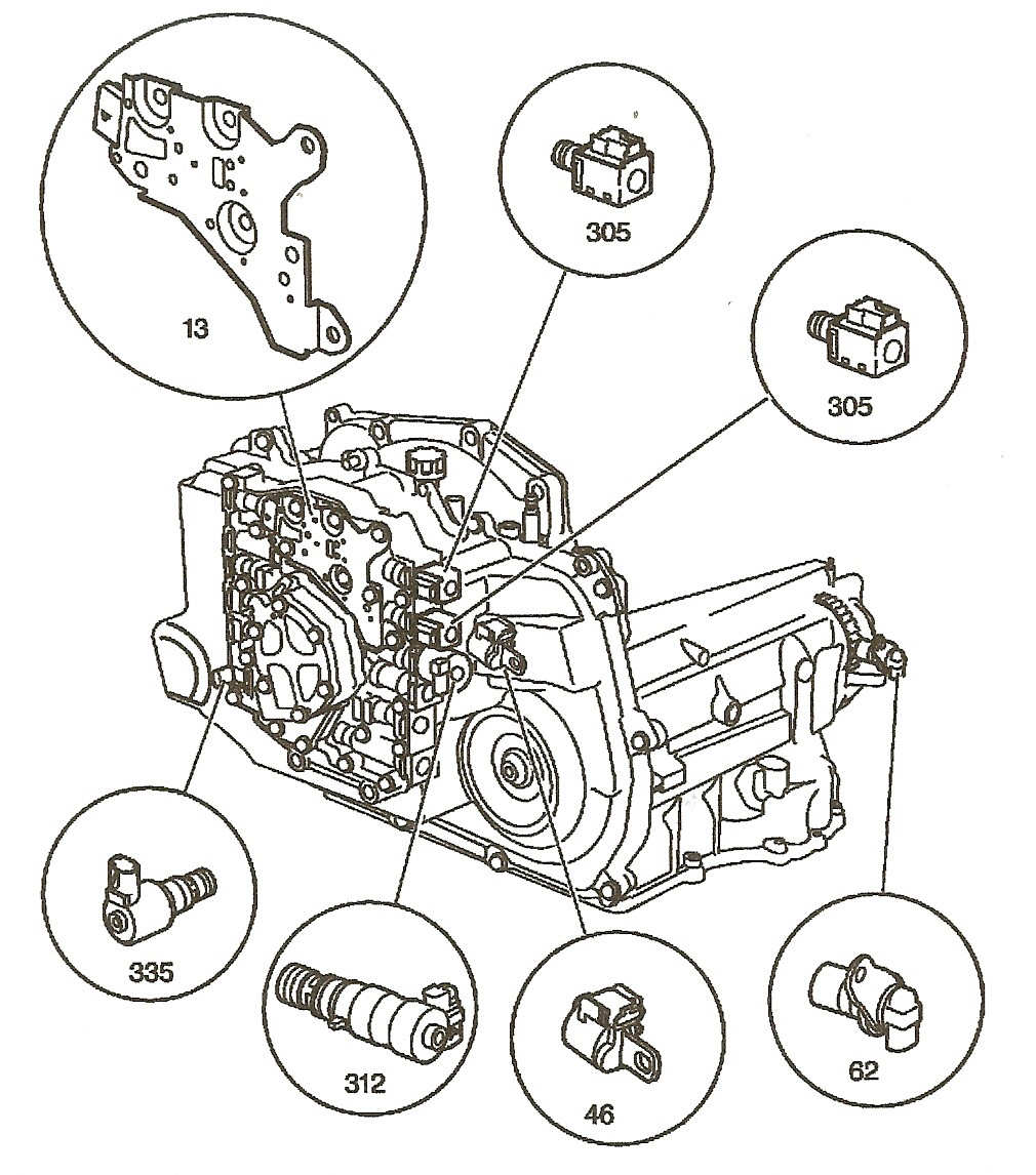 4t45e Transmission Part Diagram