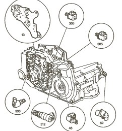 interesting notes about the 4t45e transmission gm 4t45e internal components jpg [ 1010 x 1146 Pixel ]