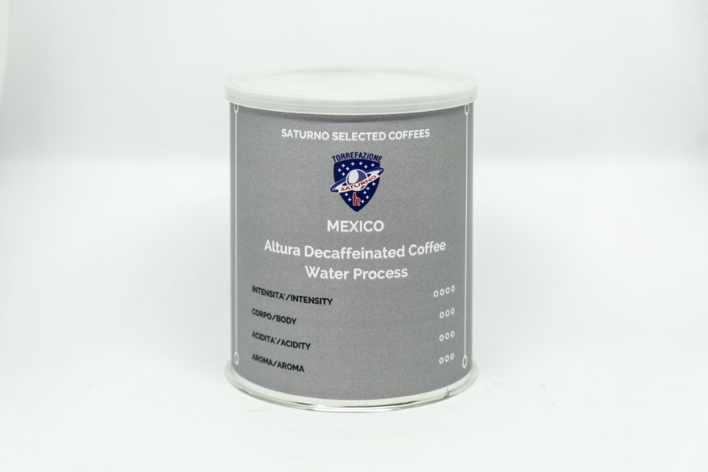 Mexico Altura Decaffeinated Coffee – Water Process – 250 g. Coffee Beans