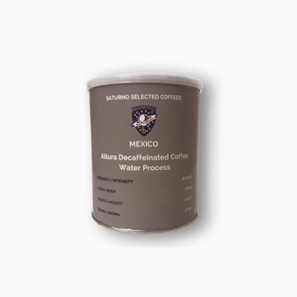 Caffè in grani Mexico De Altura SHB Decaffeinato ad acqua 250 gr.