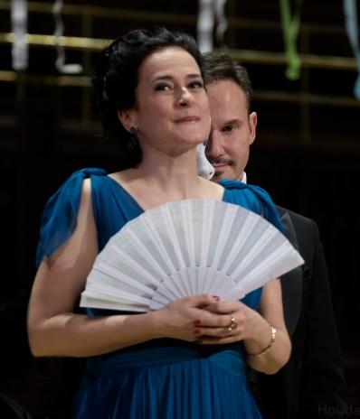 Simona Šaturová and Mariusz Kwiecien at Gala Concert in Prague, December 2016