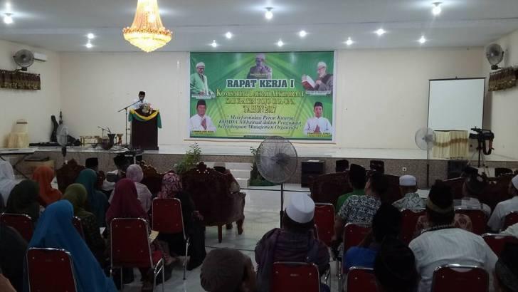 Komda Alkhaeraat Touna Gelar Rapat Kerja Satu