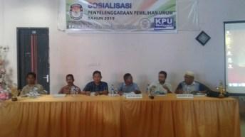 KPUD Touna, Sosialisasi Penyelengaraan Pemilu 2019