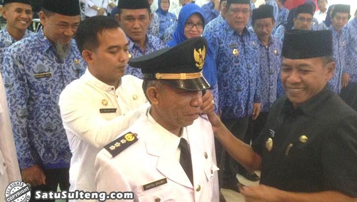Walikota Palu Kembali Lantik Sejumlah Pejabat