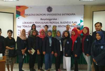 Lokakarya Penyusunan Proposal Business Plan