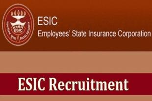 ESIC Recruitment 2020 Recruitment to these posts including 105 teaching positions in ESIC, ESIC mein teeching ke 105 padon samet in padon par bhartee